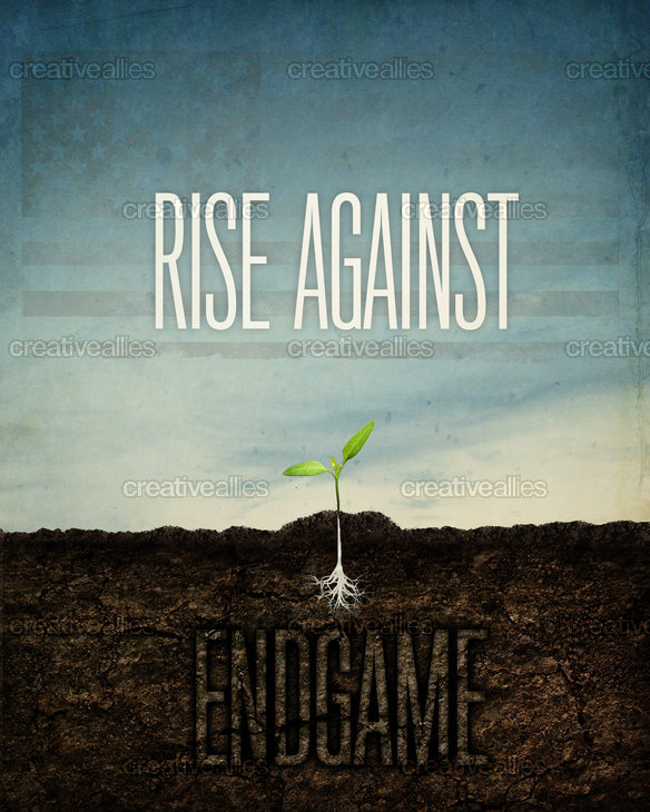 Rise Against Poster by chasebaker
