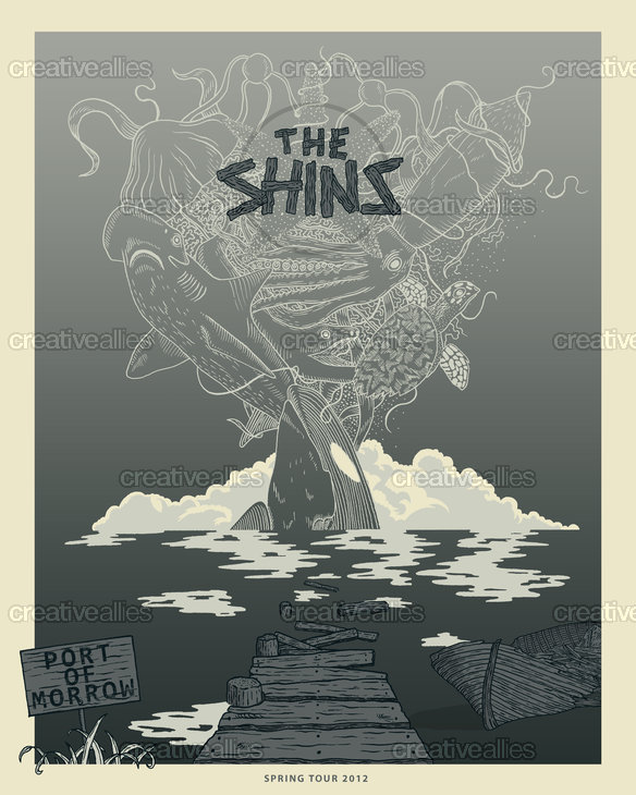 The Shins Poster by epicproblems