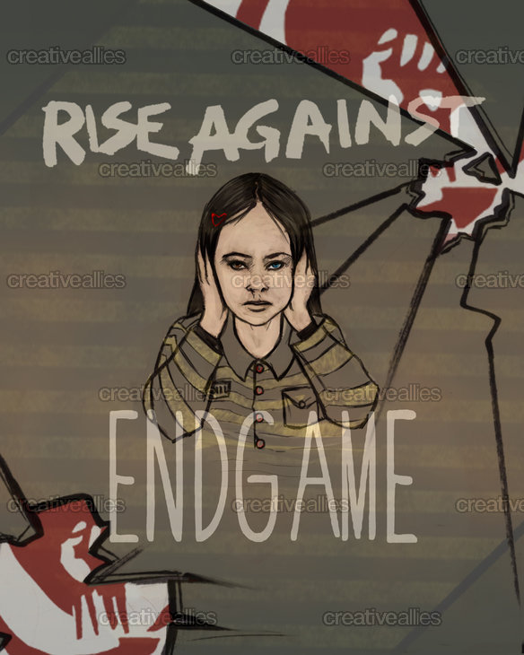 Rise Against Poster by vivarube