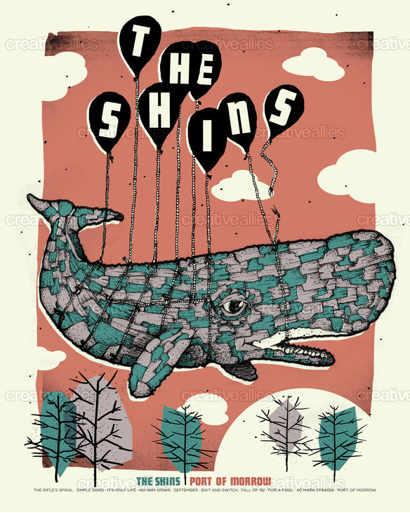 The Shins Poster by Son_Volt