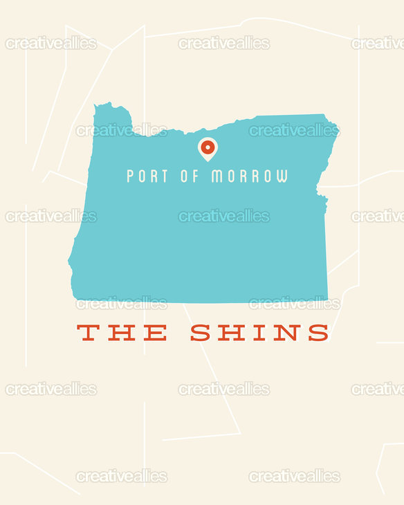 The Shins Poster by ari5