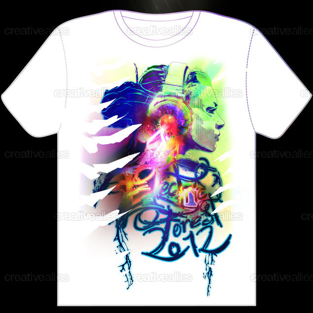 Design a t shirt for electric forest festival creative for T shirt design festival