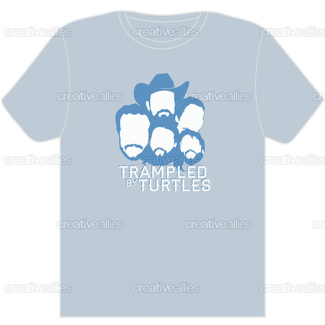 Trampled By Turtles T-Shirt by TylerJohnson on CreativeAllies.com