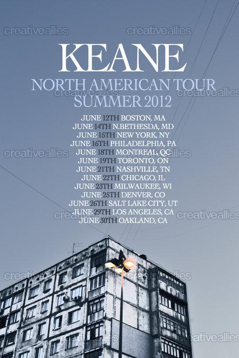 Keane Poster by Akane on CreativeAllies.com