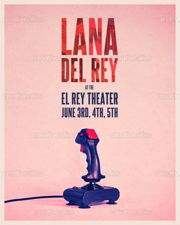 Lana_del_rey_poster_frank_rizzo_16x20