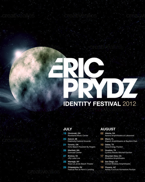 Eric Prydz Poster by Jenny Shen on CreativeAllies.com