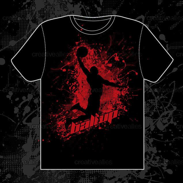 Ball Up T-Shirt by reage Haettenschweiler