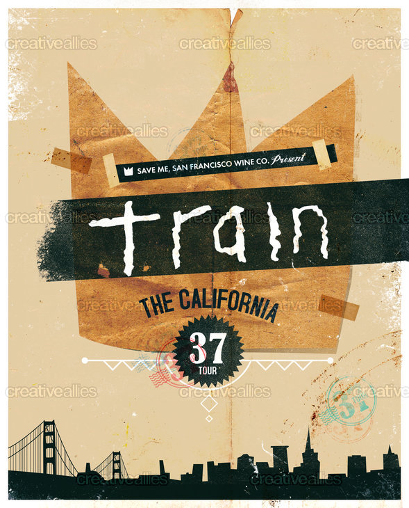 Design A Tour Poster For Train S California 37 Tour