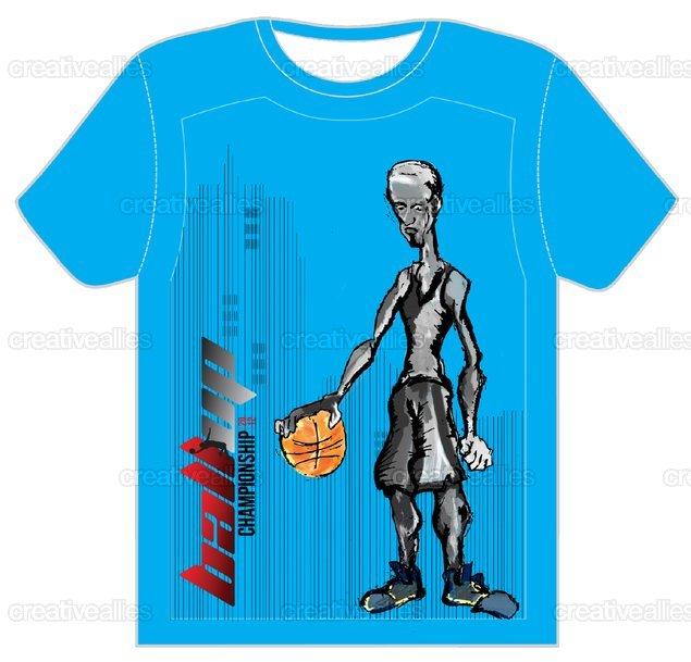 Ball Up T-Shirt by dcoleman on CreativeAllies.com