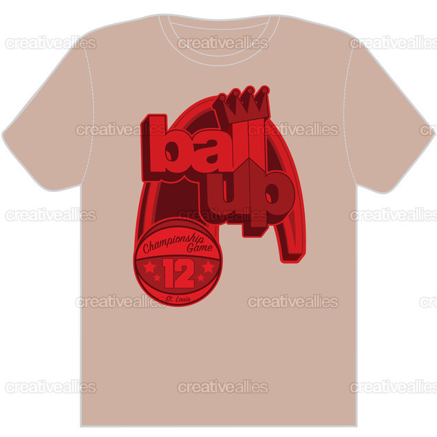 Ball Up T-Shirt by Def by Design
