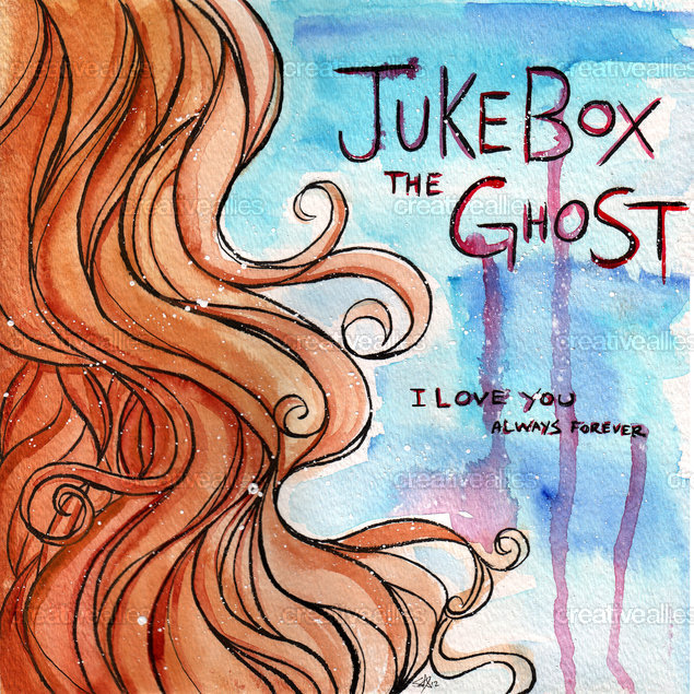 "Jukebox the Ghost 7"" Album Cover by starline on CreativeAllies.com"