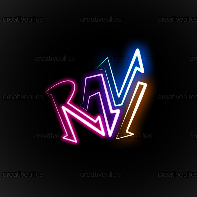 Ravi Name Design A Logo For RAVI...