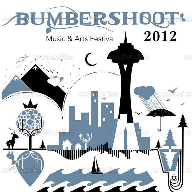 Bumbershoot: Seattle's Music & Arts Festival Tote Bag by lakhi32 on CreativeAllies.com