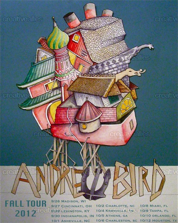 Andrew Bird Poster by Eric Quick on CreativeAllies.com