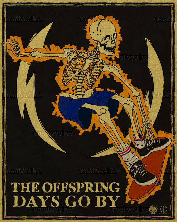 The Offspring Poster by that82ebby on CreativeAllies.com