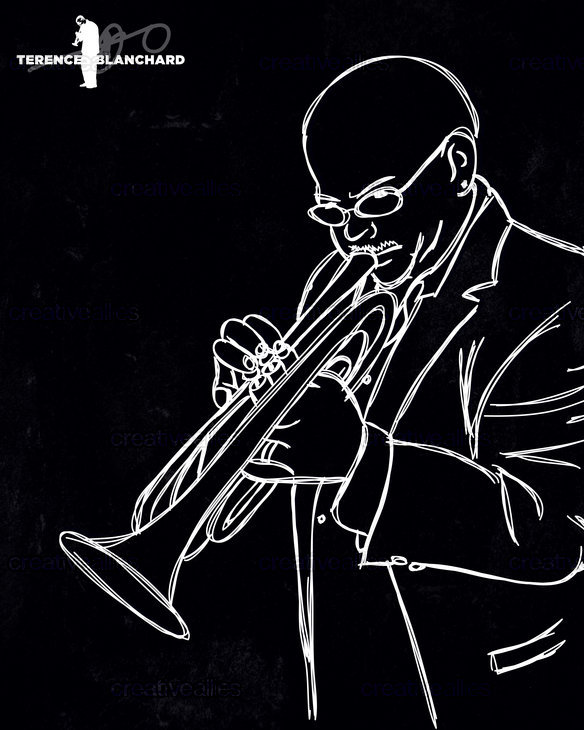 Terence Blanchard Poster by that82ebby on CreativeAllies.com