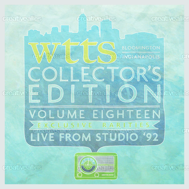 WTTS Indianapolis 92.3 FM Packaging by that82ebby on CreativeAllies.com