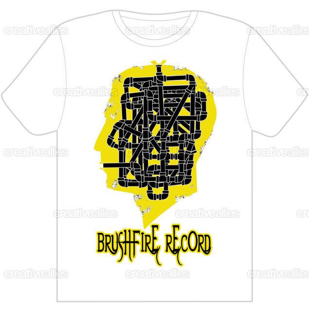 Brushfire Records T-Shirt by tibur78 on CreativeAllies.com