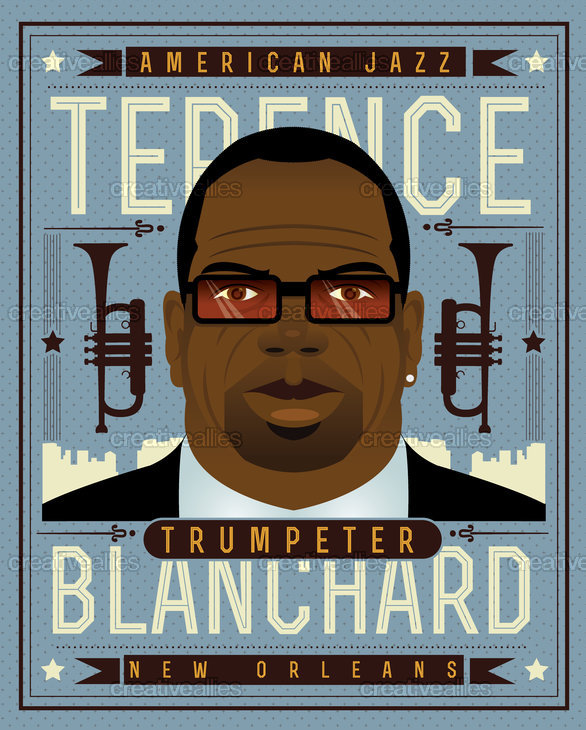 Terence Blanchard Poster by Bramanteson04 on CreativeAllies.com