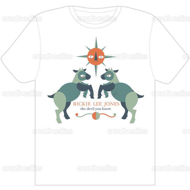 Rickie Lee Jones T-Shirt by Hayley Wells on CreativeAllies.com