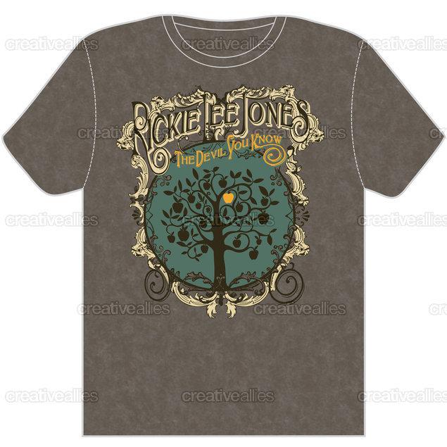 Rickie Lee Jones T-Shirt by chetslaterdesign