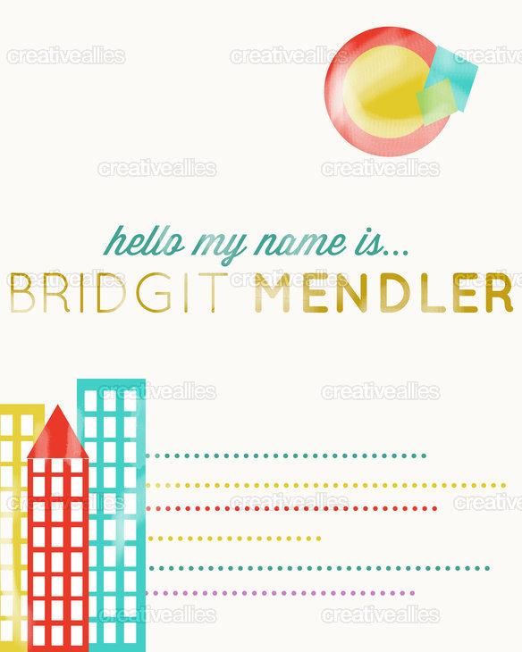 Bridgitmendler_poster
