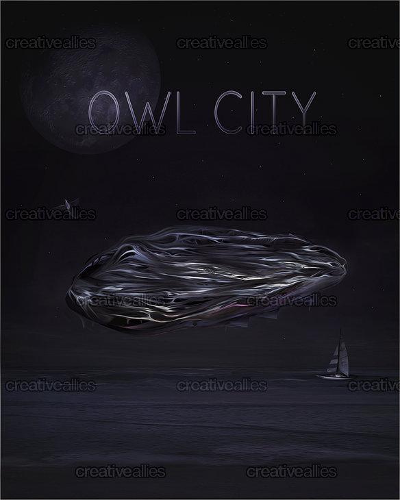 Owlcity_poster_by_jess_whitehead