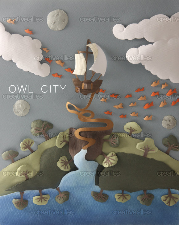 Owl City Poster by Mapher Velasco on CreativeAllies.com