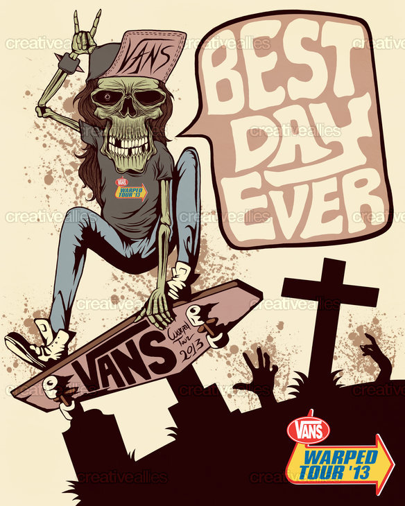 Warped Tour  Flyer