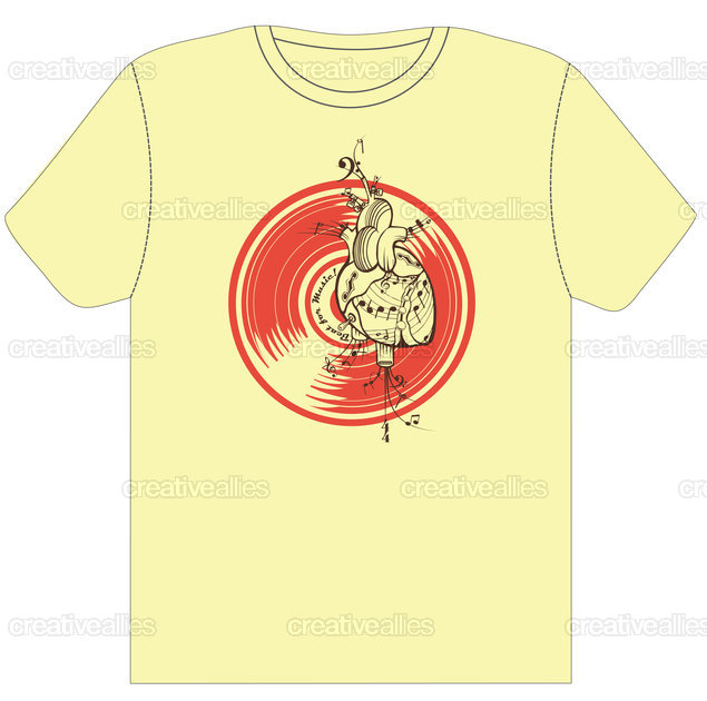 Fender Music Foundation T-Shirt by ImaginaryDan-E on CreativeAllies.com