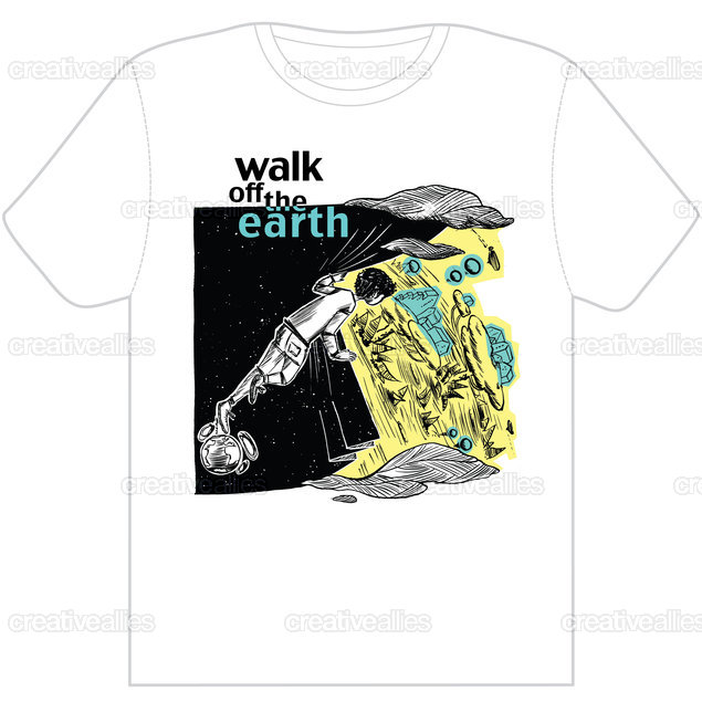 Walk Off The Earth T-Shirt by esse on CreativeAllies.com
