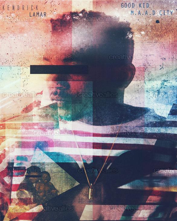 Kendrick Lamar Poster by Roosevelt Mendieta on CreativeAllies.com