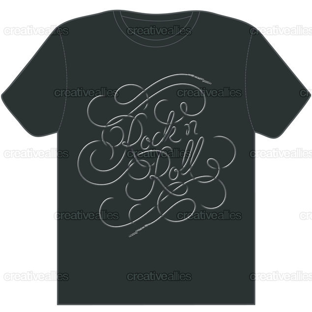 Rocknroll_tshirt