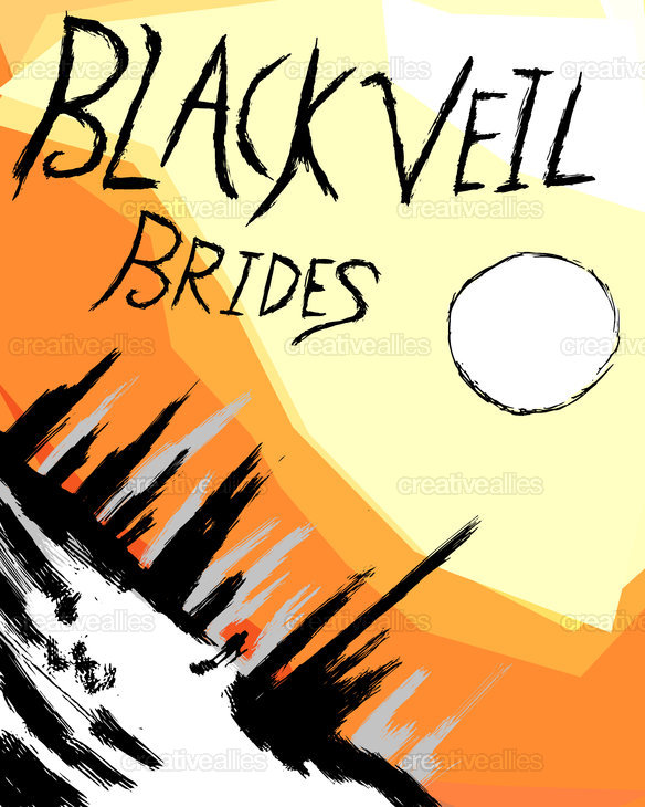 Black Veil Brides Poster by 14etan on CreativeAllies.com