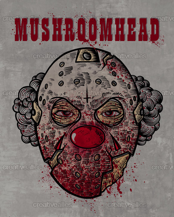 Mushroomhead Poster by GODZILLARGE on CreativeAllies.com