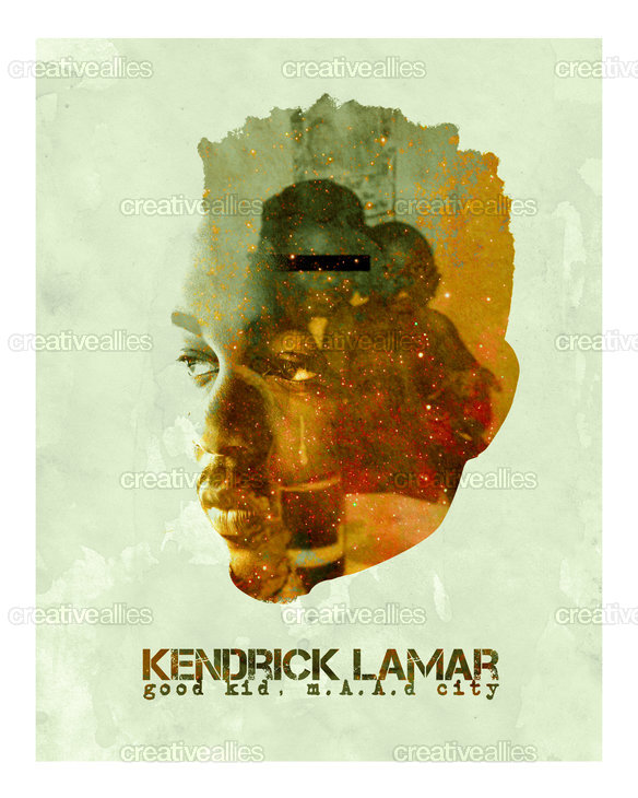 Kendrick Lamar Poster by troublesleeping on CreativeAllies.com