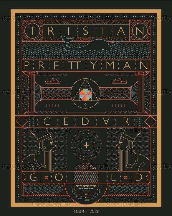 Tristan-cedargold-poster