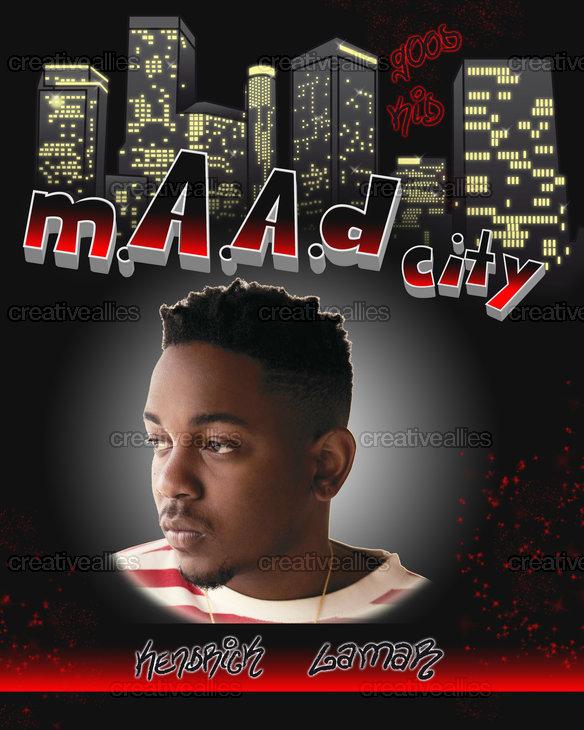 Kendrick Lamar Poster by esafbabe