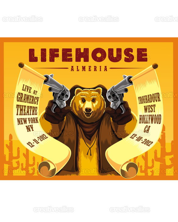 Lifehouse Poster by roel on CreativeAllies.com