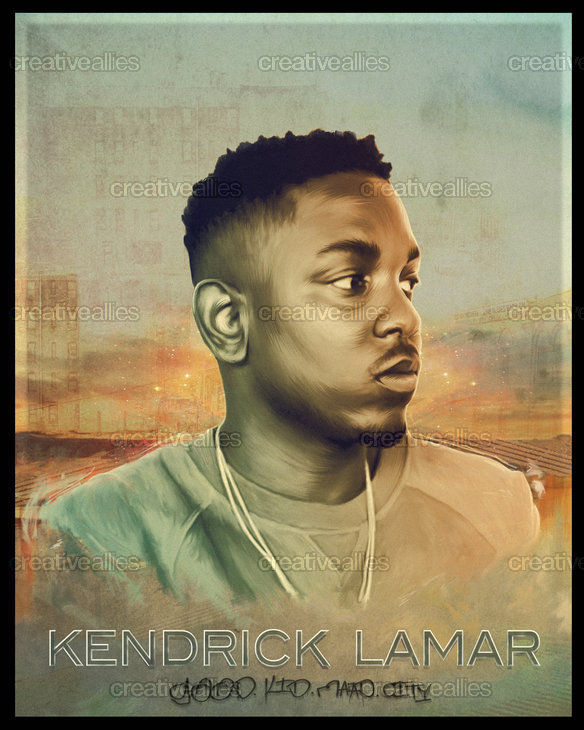 Kendrick Lamar Poster by DanielNash. on CreativeAllies.com