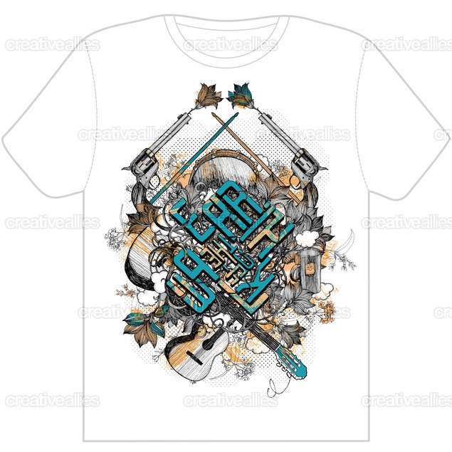 Clothing-tshirt-front-kod1