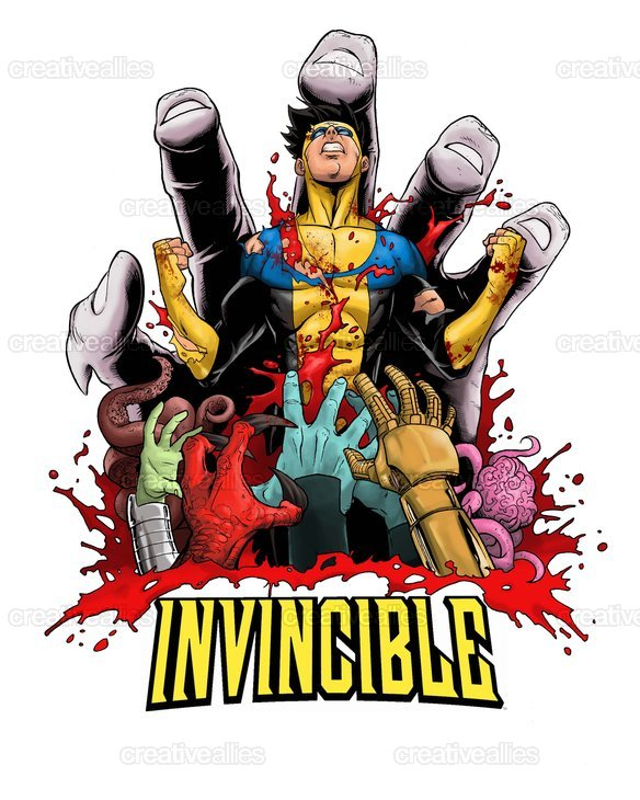 Invincible_colors