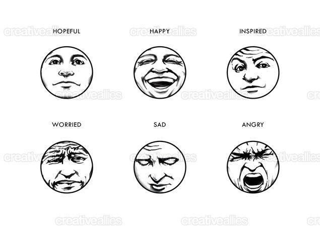 Swartz_emotion_icons_b_w