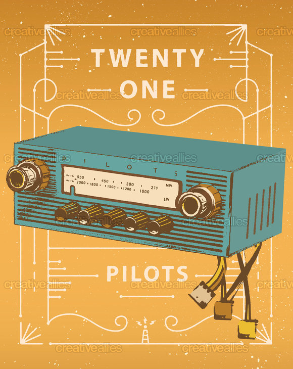 Twenty-one-pilots-poster-car-radio-stolen
