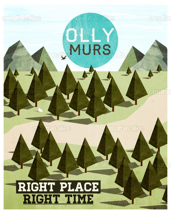 Olly Murs Poster by Smidis on CreativeAllies.com