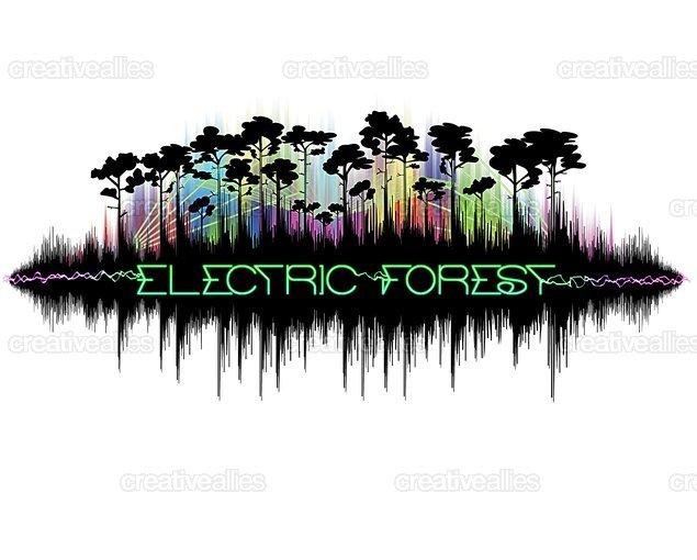 Codyrainwater_electric_forest_shirt_design