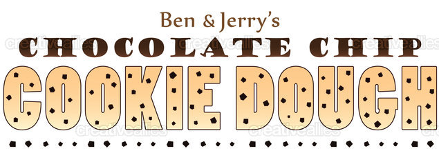 Ben & Jerry's Ice Cream Merchandise Graphic by pwaugh on CreativeAllies.com
