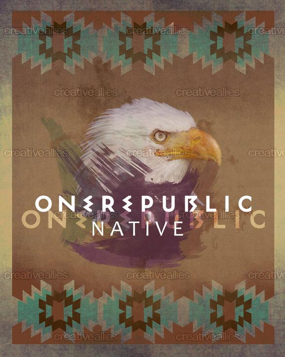 Design Commemorative Art for OneRepublic   Creative Allies