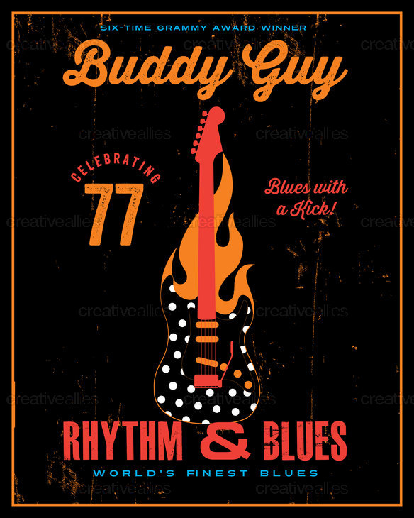 Buddy Guy Poster by Lorenzo Belmonte on CreativeAllies.com