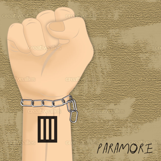 Paramore  Poster by Designer Emvy on CreativeAllies.com